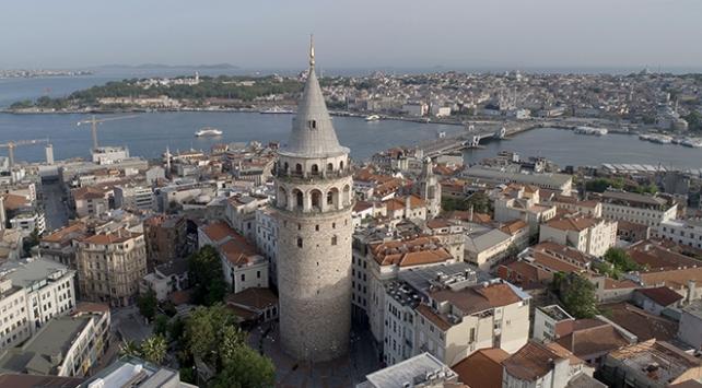 Galata Kulesi bir haftada 15 bin 685 kişiyi ağırladı