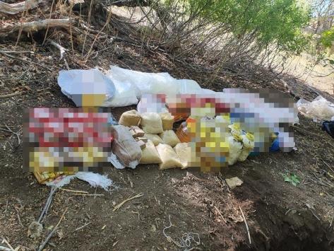 Tuncelide teröristlerin kullandığı 5 sığınak imha edildi