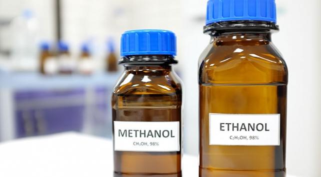 Etil ve metil alkol arasındaki fark anlaşılabilir mi?