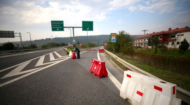 Bolu Dağı Tüneli Ankara yönü 1 ay kapalı olacak