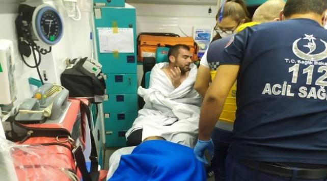 Bursada batan balıkçı teknesindeki 4 kişi kurtarıldı
