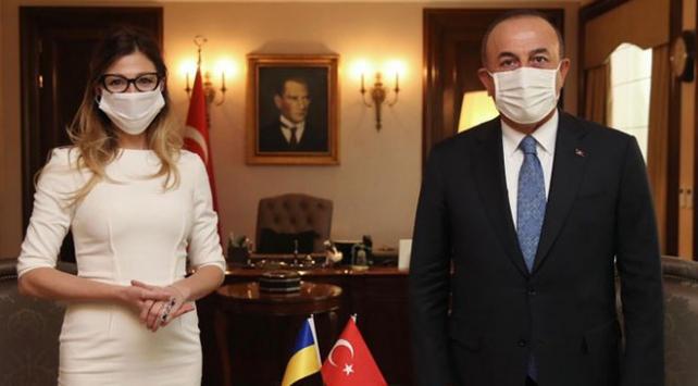Bakan Çavuşoğlu, Ukrayna Dışişleri Bakan Yardımcısını kabul etti