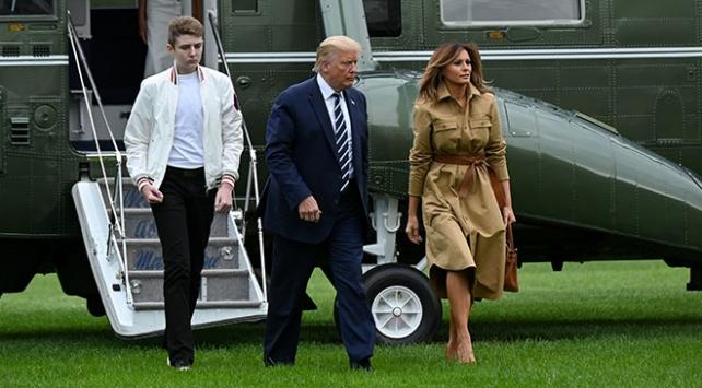 ABD Başkanı Trumpın oğlu da koronavirüse yakalanmış