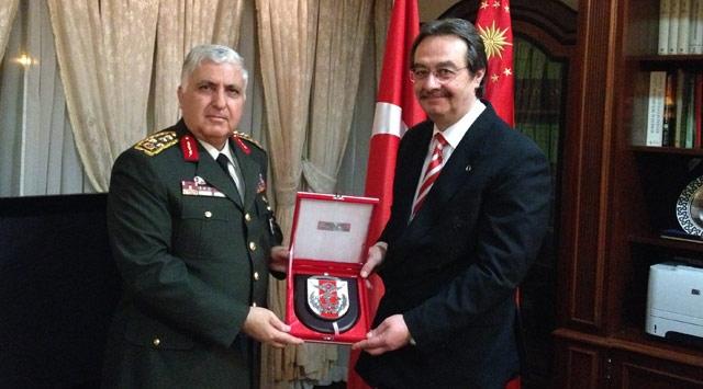 Genelkurmay Başkanı Necdet Özel Suudi Arabistanda