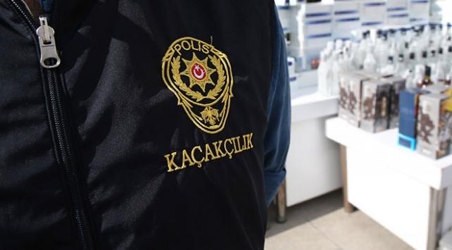 Gaziantepte 19 adrese sahte içki operasyonu: 13 gözaltı