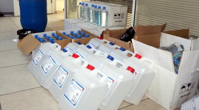 İzmirde 198 litre etil alkol ele geçirildi