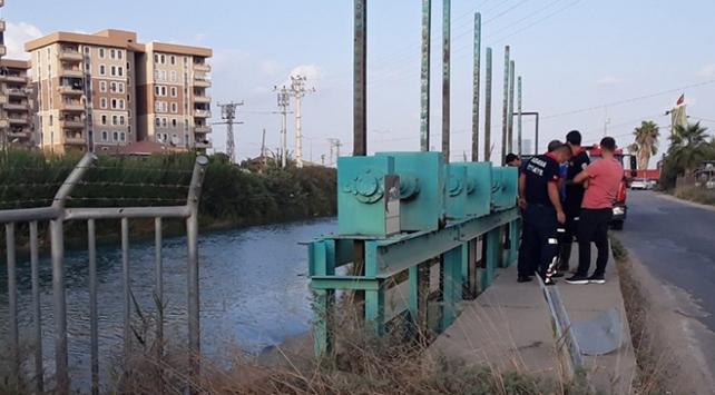 Adanada sulama kanalına giren kişi kayboldu