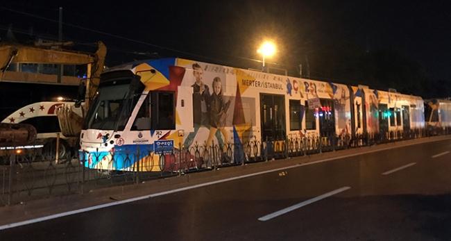 Beyazıt-Laleli tramvay seferleri normale döndü
