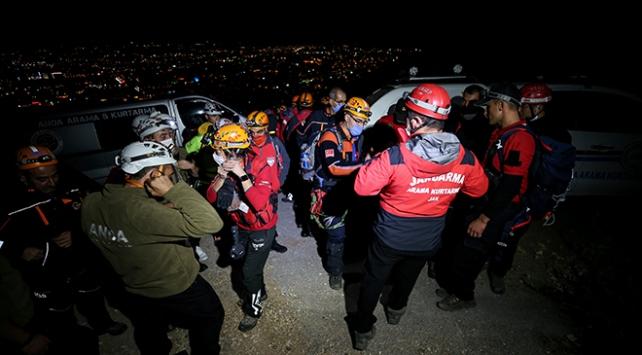 Uludağ eteklerinde kaybolan 4 kişi bulundu