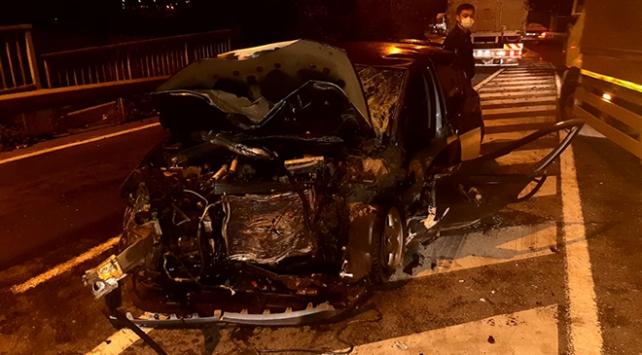 Kocaelinde zincirleme kaza: 1 ölü, 4 yaralı