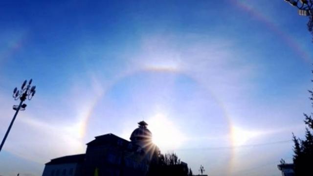 Çin'de gökyüzünde dört güneş belirdi