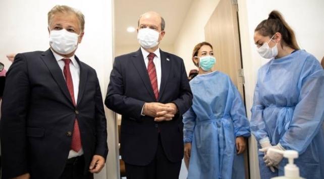 KKTC Başbakanı Tatardan Acil Durum Hastanesine ziyaret