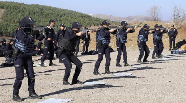 Polis adaylarının eğitimlerine başlandı