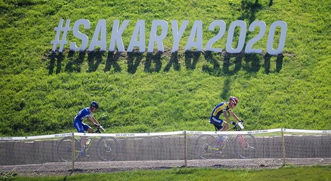 Sakaryada Dünya Dağ Bisikleti Maraton Şampiyonası heyecanı