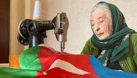 Laçin Ana diktiği bayraklar Karabağ'da dalgalansın istiyor
