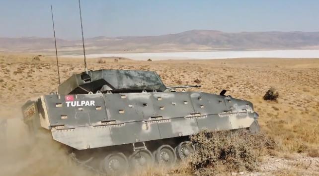 Türkiyenin gücüne güç katacak yeni zırhlısı Tulpar göreve hazır