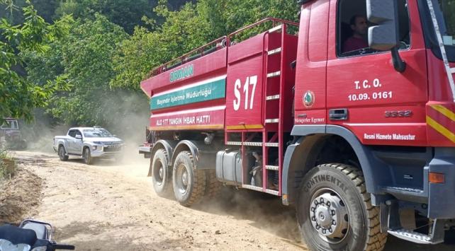 İzmir Ödemişte orman yangını