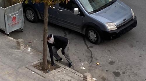 Hırsızlar kendilerini uyaranlara ataş atıp kaçtı