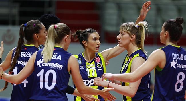 Filedeki derbiyi Fenerbahçe Opet kazandı
