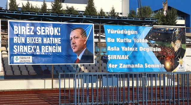 Şırnaklılar Cumhurbaşkanı Erdoğanı bekliyor