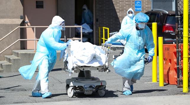 ABDde 584 kişi daha koronavirüsten öldü