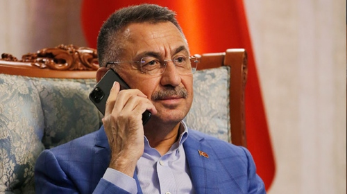 Cumhurbaşkanı Yardımcısı Oktay, Tatar ile telefonda görüştü