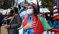 Ermenistan'ın saldırıları New York'ta protesto edildi