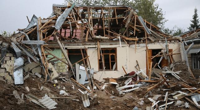 Ateşkesi ihlal eden Ermenistan, Terter ve Ağcabedide sivilleri hedef aldı