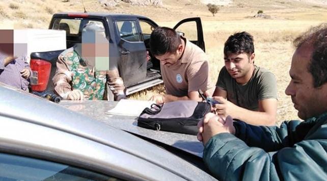 Sivasta kaçak avlanan 54 kişiye 70 bin lira ceza