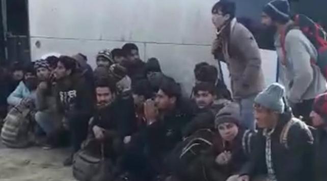 Bitliste 95 düzensiz göçmen yakalandı