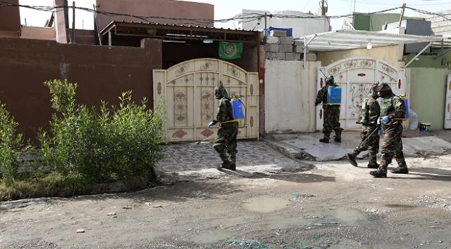 Irakta 63 kişi daha koronavirüsten öldü