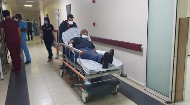 Erzincanda şeker fabrikasının buhar borusu patladı: 2 yaralı