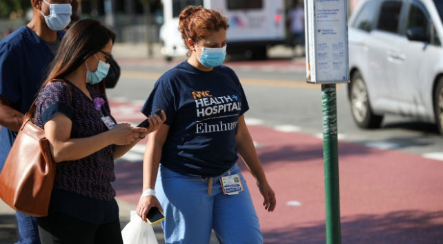 ABDli çalışanlar koronavirüs nedeniyle endişeli