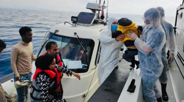 İzmirde 78 sığınmacı kurtarıldı