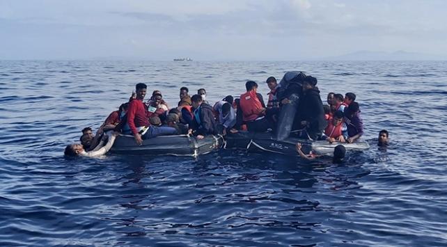 Can salında 59 göçmen