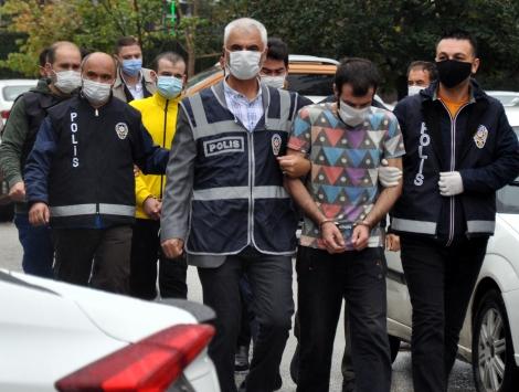 Eskişehirde drone ile takip edilen uyuşturucu operasyonunda 8 gözaltı