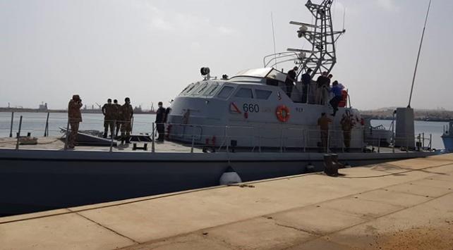 TSKdan Libyalı askerlere sahil güvenlik eğitimi