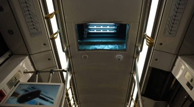 Kocaelide toplu taşımaya ultraviyole hava filtresi