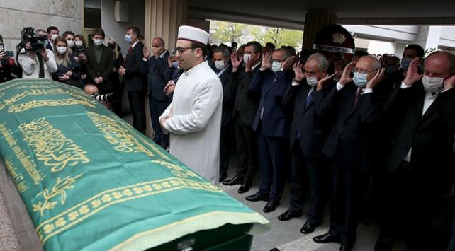 Gazeteci Bekir Coşkun için cenaze töreni düzenlendi