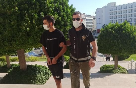 Muğladaki uyuşturucu operasyonunda yakalanan şüpheli tutuklandı