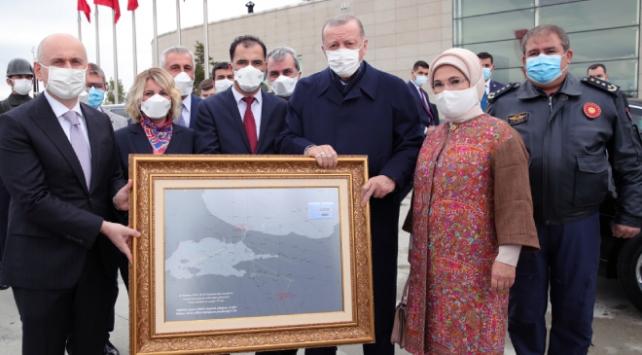 Cumhurbaşkanı Erdoğana anlamlı hediye