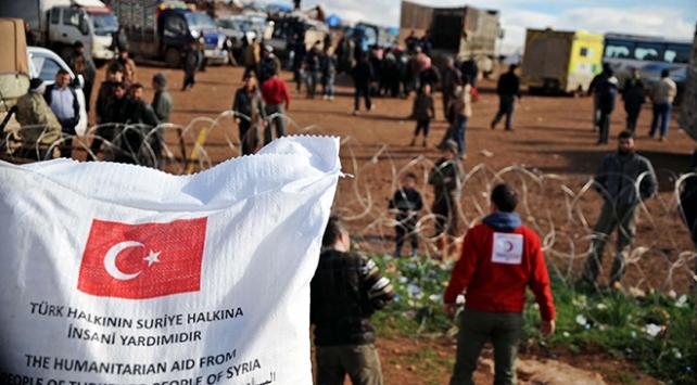 Türkiyeden ihtiyaç sahibi ülkelere un ve bakliyat yardımı