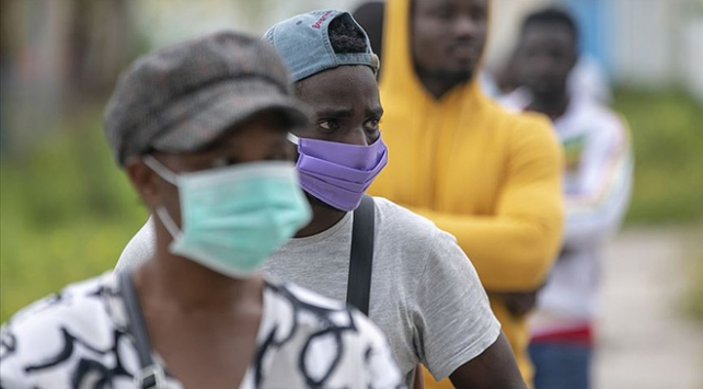 Afrikada koronavirüsten ölenlerin sayısı 40 bin 289 oldu