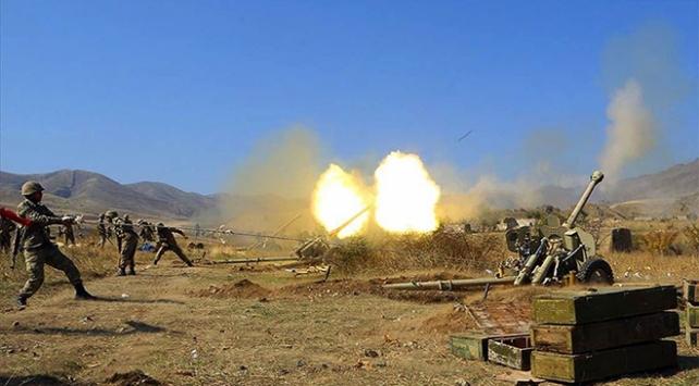 Ermenistan cepheden kaçıyor, sivilleri vuruyor