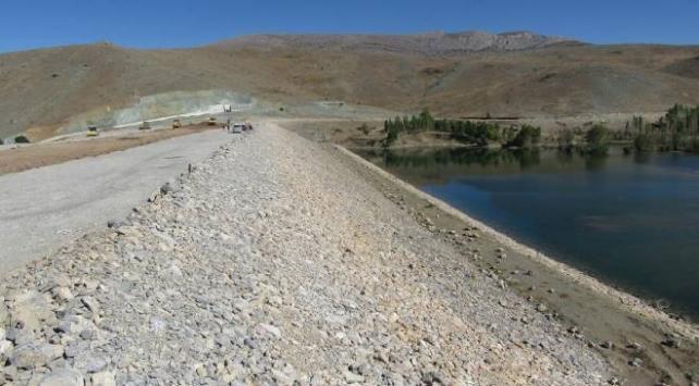 Sivas'taki Örenlice Barajı tarım arazilerini suya kavuşturacak