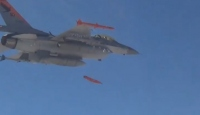 """F-16'lardan """"minyatür bombalarla"""" tam isabet"""