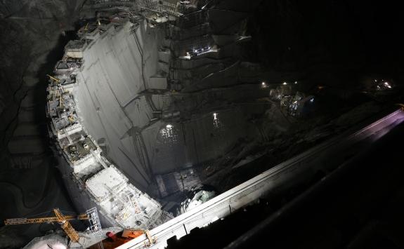 Türkiyenin en yüksek barajında yüzde 87lik fiziki gerçekleşme sağlandı