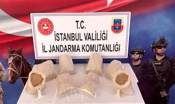 İstanbulda 26 kilogram eroin ele geçirildi