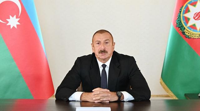 Azerbaycan Cumhurbaşkanı Aliyev: İşgalden kurtarılan topraklarda tarımsal faaliyetler başladı