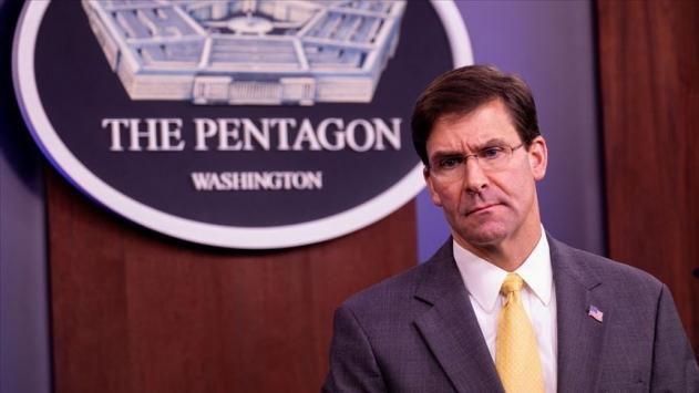 ABD Savunma Bakanı Esper, İsrail Savunma Bakanı Gantz ile görüştü